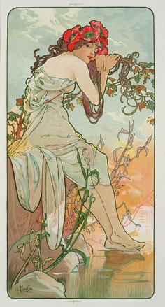 The Seasons: Summer by Alphonse Mucha — page 9 of 9