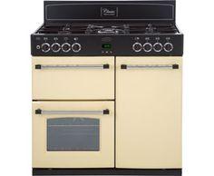 Belling Classic900DFT Dual Fuel Range Cooker Freestanding Cream