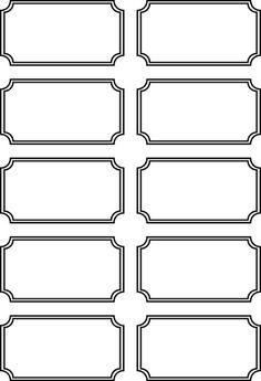 Free Printable Tickets Template New 36 Editable Blank Ticket Template Examples for event Thogati