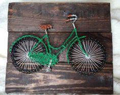 AL orden bicicleta cadena arte por maridooodle en Etsy