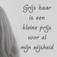 grijze haren, wijsheid