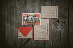 DIY invitations. Nashville Wedding Photographers. Chicago Wedding. www.qavenuephoto.com