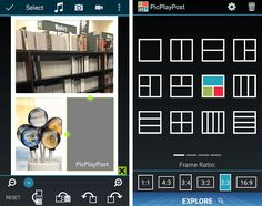 An Android, iOS and Windows app for making photo and video collages to share online. Add new or stored videos, photos and videos to design your creation. iOS: http://itunes.apple.com/us/app/picplaypost/id498127541?mt=8&uo=4&at=11lt9Z Android: https://play.google.com/store/apps/details?id=com.flambestudios.picplaypost Windows: https://www.windowsphone.com/en-us/store/app/picplaypost/605f0bac-861d-419c-b53a-dbbd2573ddeb
