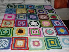 Ravelry: Project Gallery for Joyous Squares pattern by Dot Drake