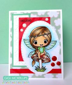 Stamp AnnieThing March Release Day 3- Kelsey-Believe