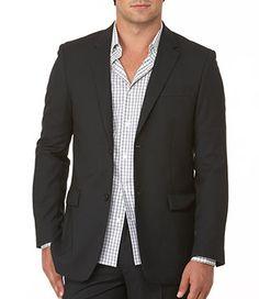 Perry Ellis: Mini Textured Classic Fit Blazer
