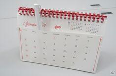 続いてはNTTレゾナントの卓上カレンダー。