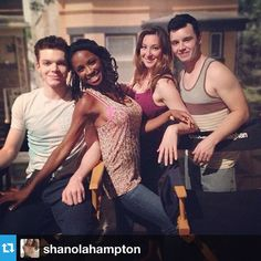 Cam, Shanola, Isadora, and Noel