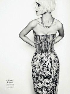 Jessica Stam | Txema Yeste | Harper's Bazaar Spain March 2012 | AquellosLocos - 3 Sensual Fashion Editorials | Art Exhibits - Anne of Carversville Women's News