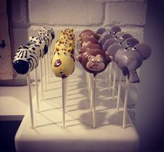 A personal favorite from my Etsy shop https://www.etsy.com/listing/209821215/20-zoo-animal-assorted-cake-pops