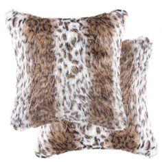 AC-19-CPW Ragdoll Kittens Soft Velvet Feel Cushion Cover With Inner Pillow
