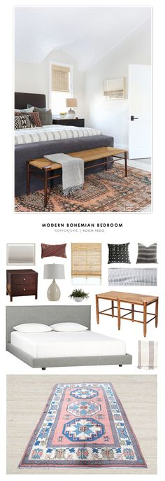 Copy Cat Chic Room Redo | Modern Bohemian Bedroom | Copy Cat Chic | Bloglovin'