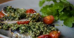 Cuisine-à-Vous - Sardientjes met een kruidenjasje Broccoli, Fish, Vegetables, Pisces, Vegetable Recipes, Veggies