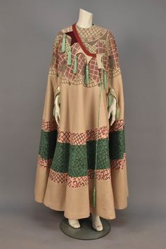 late 1960's Zandra Rhodes limited edition wool cape