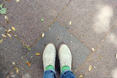 madeinvisoo: mint Calcetines verdes menta Lemonade Attack / green socks