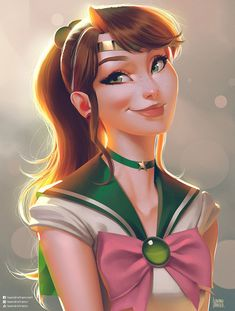 Sailor Jupiter fanart I made to study backlit subject. Had fun doing this one, probably gonna do all the Sailor Scouts this way Sailor Jupiter, Sailor Mars, Sailor Moon S, Sailor Neptune, Sailor Venus, Sailor Mercury, Sailor Moon Crystal, Sailor Scouts, Sailor Moon Personajes
