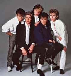 So stylish. Duran Duran made a point of never wearing jeans.