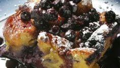 Come taste traditional Newfoundland recipes such as Old Fashioned Blueberry Pudding from the place we call home. We only have the traditional Newfoundland recipes your mother & grandmother use to make! Cookbook Recipes, Dessert Recipes, Desserts, Blueberry Pudding Recipes, Banana Pudding, Slow Cooker Bread Pudding, Newfoundland Recipes, Caramelised Apples, Grilling Recipes