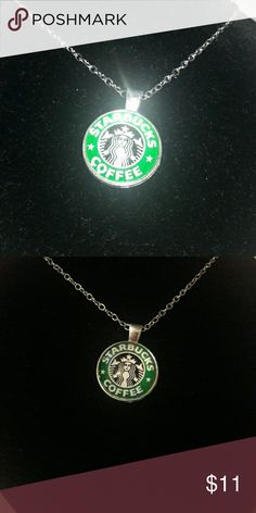 SaleSilvertone Starbucks pendant on chain NEW gift This is for the Starbucks lover in your life! Cute fashion jewlery that compliments the coffee lover lifestyle. Boxed or gift bagged for the perfect treat! Please ask any questions, thank you! Starbucks Jewelry Necklaces