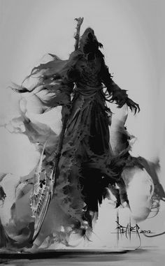 Thanatos; Greek God of Death and netherrealms