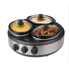 TRU Crock Round Buffet Slow Cooker ** Read more reviews of the product by visiting the link on the image.