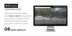 REFLEX - Creatives & Agency WordPress Theme by tommusrhodus     REFLEX is an enjoyable portfolio for creative people and agency / business. This WordPress Theme with unique layout and min