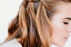 30 of the best five minute hairstyles for every hair length via Stylist.co.uk