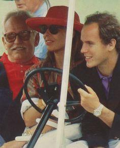 Rainier, Caroline and Albert 1986