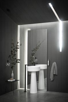 #papapolitis #bathroom #flooring #interior #design #architecture #bathroominspiration #bathroomideas #bathroomdecor #bathroomgoals #designinspiration #interiordecor #instahome #bathroomstyle #design #interiordesign #interiors #homedecor #homedesign #homestyling #interiorstyling #washbasins #mirrors Bathroom Spa, Modern Bathroom, Small Bathroom, Bathroom Lighting, Washroom, Bathroom Ideas, New Bathroom Designs, Contemporary Bathroom Designs, Bathroom Interior Design