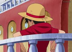 Monkey D. Luffy - sometimes...i just wish i could take his face in my hands and kiss him then hug him hard and cuddle with him and run my hands through his hair and feed him meat..!!!