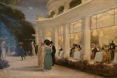 Une soirée au Pré Catelan - Henri Gervex - Henri Gervex - Wikipedia
