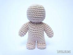 One Piece Crochet Doll Pattern - a free tutorial