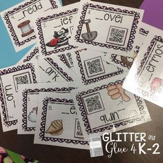 Freebie! Sh and Th digraphs with QR Codes! Practice digraphs with classroom iPads.