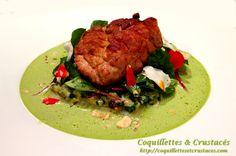 ris de veau, blettes en 3 façons...  http://coquillettesetcrustaces.com/lanesthesie-cest-comme-la-cuisine-2/