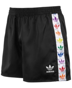 adidas Men's Originals Logo Shorts – Black/White adidas Herren Originals Logo Shorts – Schwarz / Weiß Adidas Outfit, Adidas Shorts, Sport Shorts, Running Shorts, Adidas Men, Gym Shorts Womens, Running Wear, Sporty Outfits, Cute Outfits