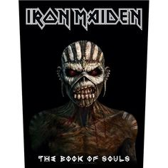 Iron Maiden The Book Of Souls Jacket Back Patch Official Heavy Metal New from $11.85
