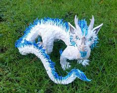 Sculpture de Dragon Oriental personnalisé sur par MakoslaCreations