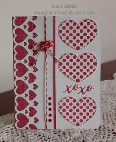 In My Heart - adorable card! http://www.theprojectbin.com/product/in-my-heart-set-of-seven-clear-stamps-with-2-coordinating-dies/