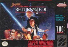 Super Star Wars Return of the Jedi Super Nintendo