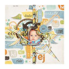 Sweet Shoppe Designs::Digital Scrap Kits::A Boy's Life by Studio Flergs