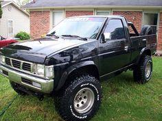mine was a beat to death ol mud buggy. 85 or 86 I think Mini Trucks, Custom Trucks, Lifted Trucks, Cool Trucks, Chevy Trucks, Pickup Trucks, Nissan Pickup Truck, Nissan 4x4, Nissan Trucks