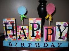 DIY Happy Birthday! crafts-diy