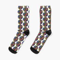 'Flower Bouquets ' Socks by Laurajart Buy Flowers, Bright Flowers, Flower Bouquets, Large Prints, Looks Great, Take That, My Arts, Socks, Fancy
