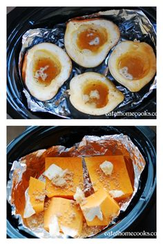 Winter Squash in the Slow Cooker