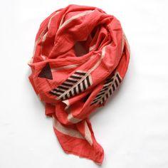 arrows scarf