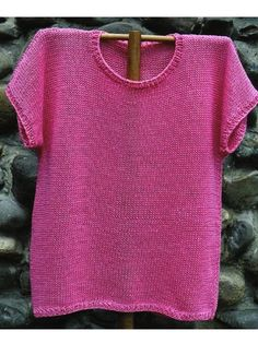 Tropical Tee Knit Pattern