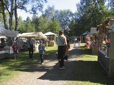 Markkinaväkeä - People on the faire, Hämeen keskiaikamarkkinat 2014 - Häme Medieval Faire 2014, © Piela Auvinen