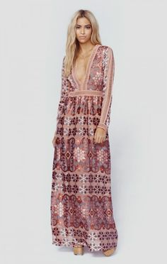 For Love And Lemons Clothing Boho Dresses Juliet Maxi Dress