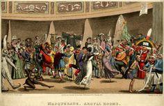 Masquerade at the Argyll Rooms, 1826