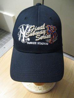 New York Yankees Mets Yankee Stadium Subway Series 2008 New Era Baseball Cap Hat #NewYorkYankeesNewYorkMets